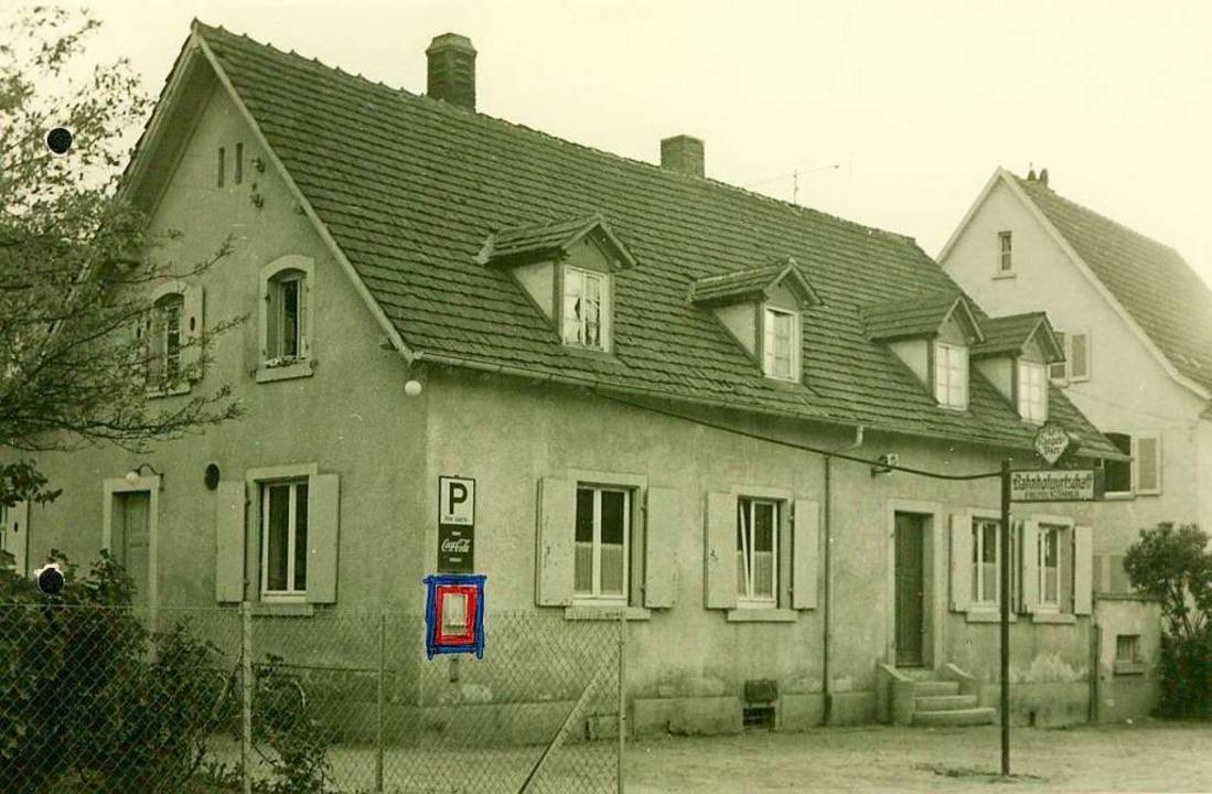 Bahnhöfle Gundelfingen im Jahr 1962.  | Foto: Landratsamt