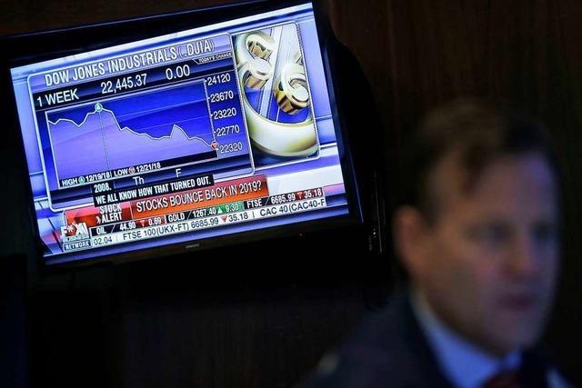 Die Börsen stürzen ab, der US-Präsident wiegelt ab