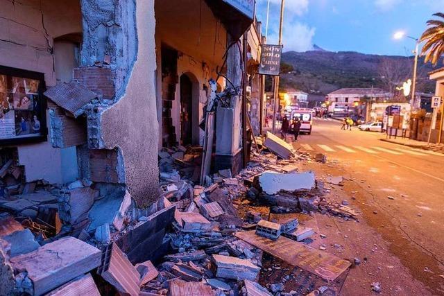 Elf Verletzte bei Ausbruch des Vulkans Ätna auf Sizilien