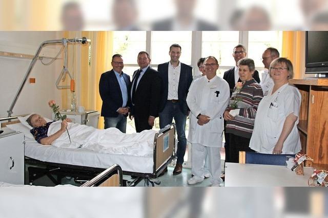 Drei Bürgermeister am Krankenbett