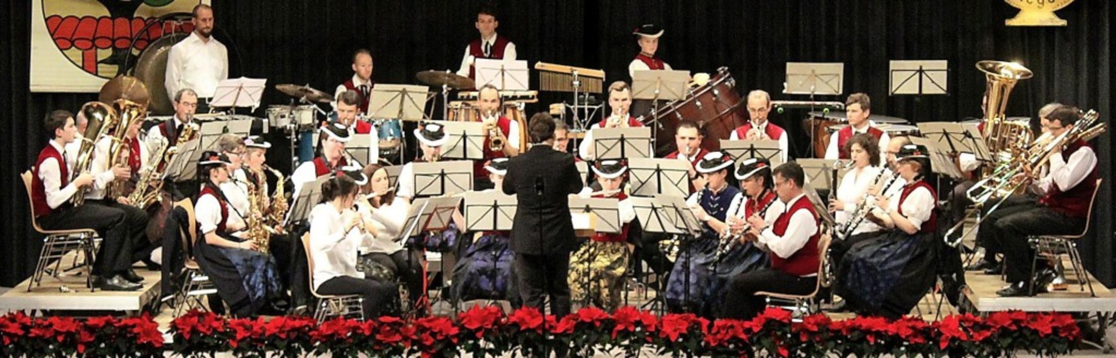 Ein denkwürdiges Konzert mit viel Mut ...n präsentierte der Musikverein Stegen.  | Foto: Erich Krieger