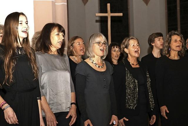 Generationentreff der Chorstimmen