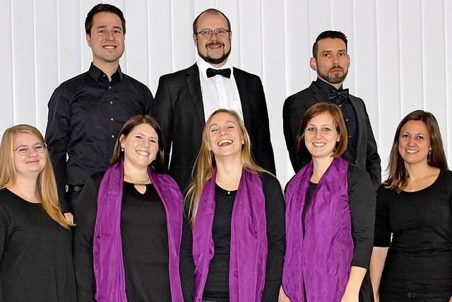 Vokalensemble Voix Celestes gibt am Montag, 31. Dezember, Silversterkonzert in der katholischen Kirche in Eiken/Schweiz