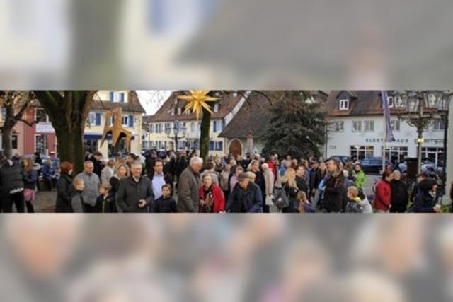 Volksfeststimmung am Lindenplatz