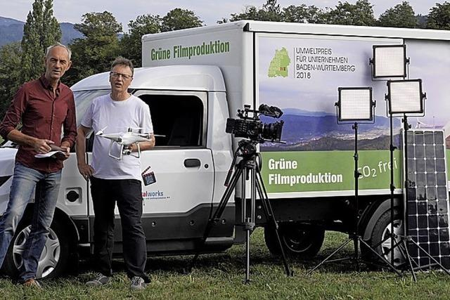 Filmteam setzt auf Öko für Umweltpreis