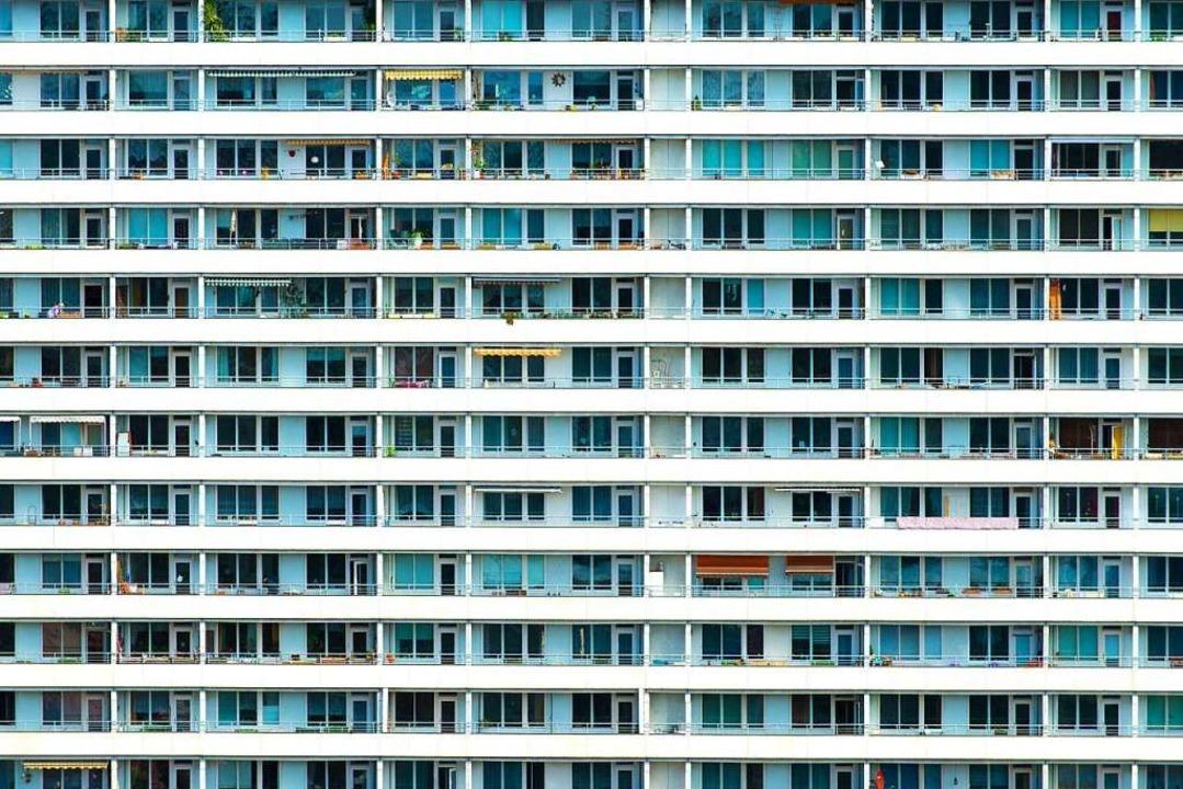 Wohnraum wird in großen Städten weiterhin knapp bleiben.   | Foto: DPA