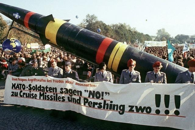 Maas warnt vor Aufrüstung