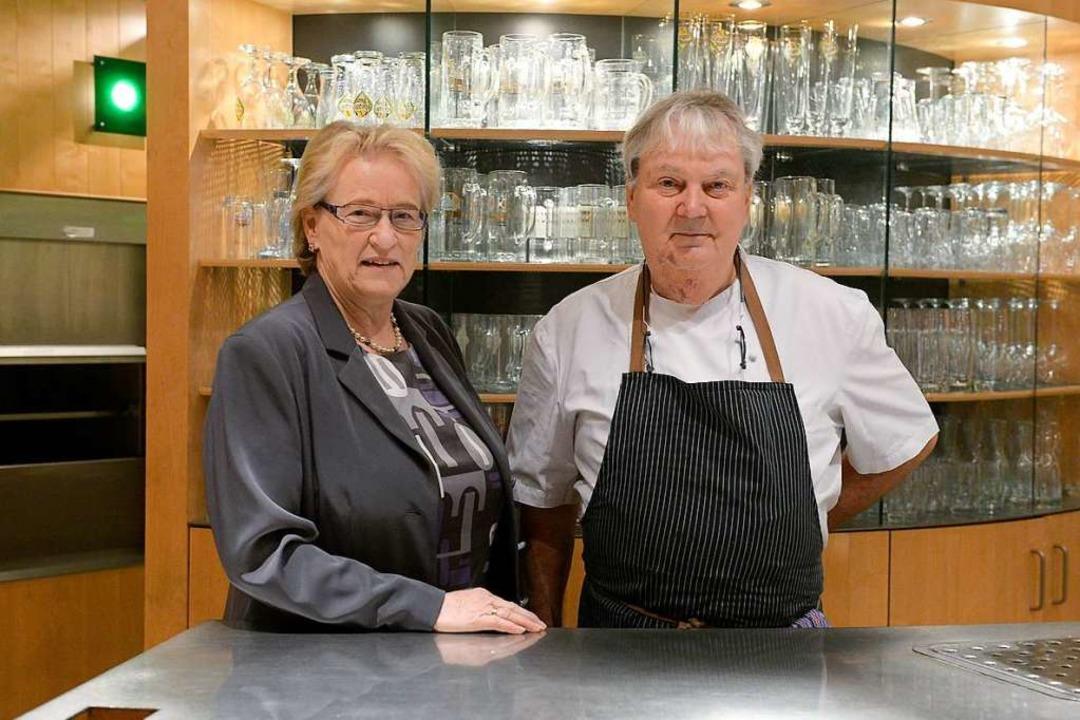 Seit 1986 waren Uli und Elisabeth Fors...211; oft an sieben Tagen in der Woche.  | Foto: Ingo Schneider