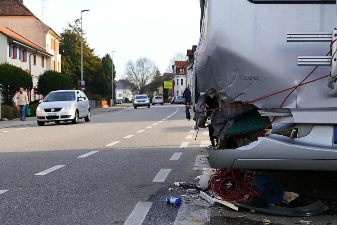 An beiden Fahrzeugen entstand ein Gesamtschaden von 13000 Euro.  | Foto: Verena Pichler