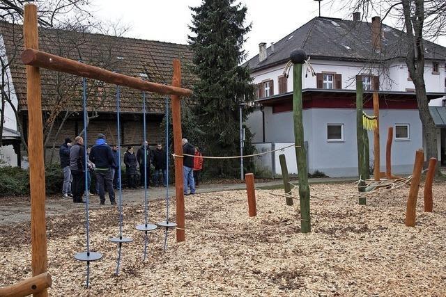 Spielplatz für die kleinen Dorfbewohner