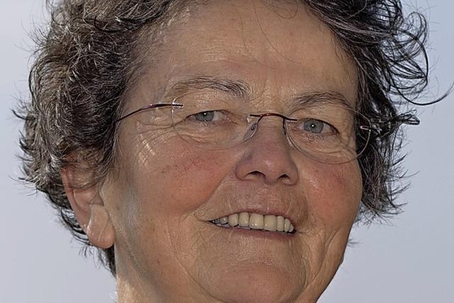 Helene Brombacher hört als Ortsvorsteherin auf