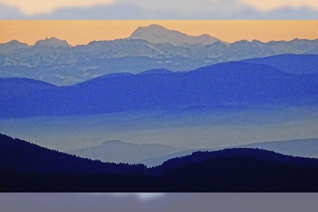 Berge im Blick