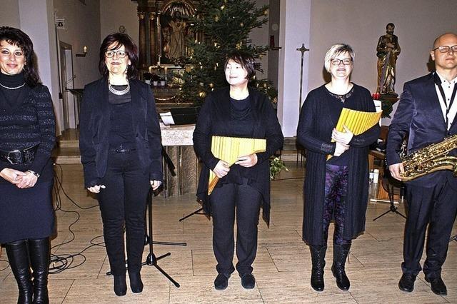 Klangvolles Konzert zu Weihnachten in der Kirche