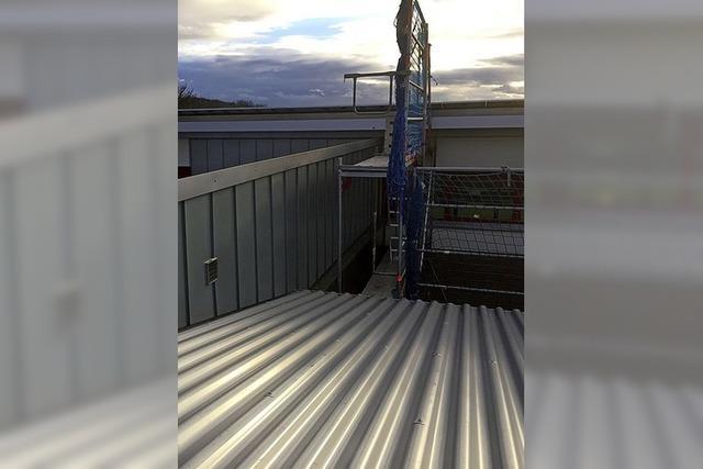 Dach der Grundschule ist wieder dicht