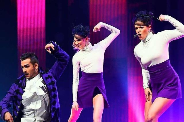 Kristina Andreev aus Lahr tanzt bei