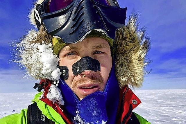 Mit eigener Kraft durch die Antarktis