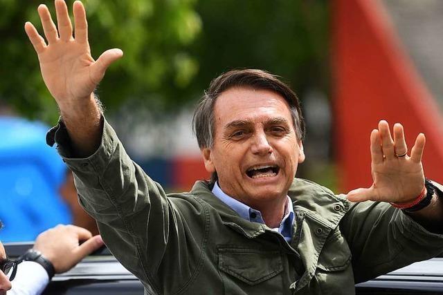 Brasiliens scharfer Schwenk nach rechts