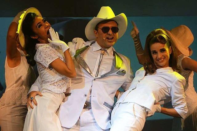 Der Kanderner Showsänger Nico Alesi lebt seinen Traum vom Musicaldarsteller