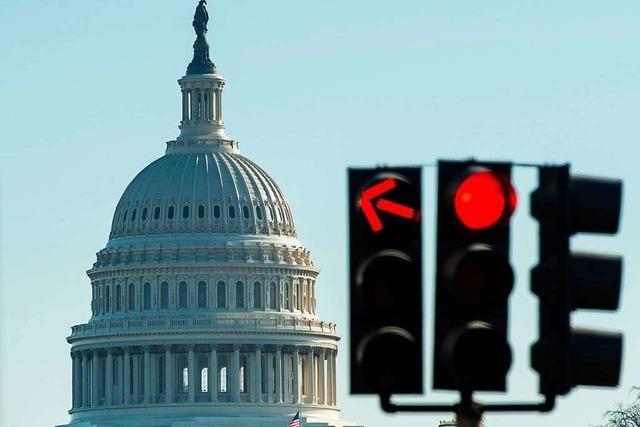 US-Haushaltssperre dauert voraussichtlich bis ins neue Jahr