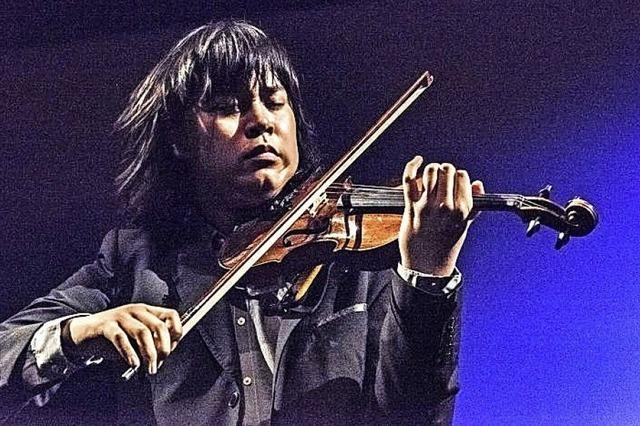 Shih-Yu Tang (Klavier) und Elias David Moncado (Violine) in Lenzkirch