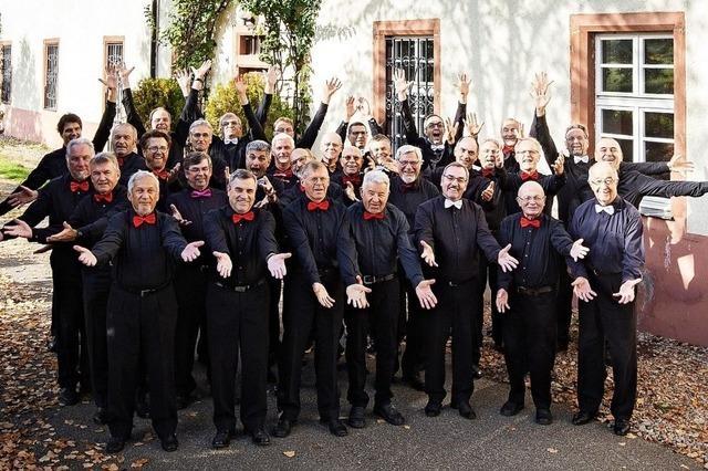 Männergesangsverein lädt zum Jahreskonzert