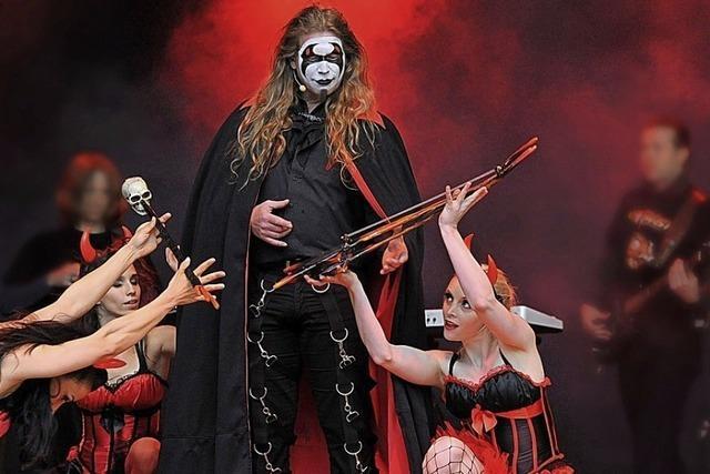 Im Kurhaus Badenweiler werden vom 22. bis 24. März vier Aufführungen der Rockoper Faust gezeigt