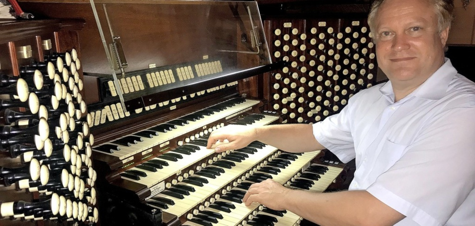 Der Organist Florian Wilkes ist in der Kirche St. Peter in Badenweiler zu hören.  | Foto: privat