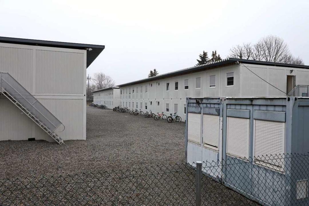 Diese Wohnanlage am Sägeteich in Offenburg soll 2019 aufgelöst werden.  | Foto: Christoph Breithaupt