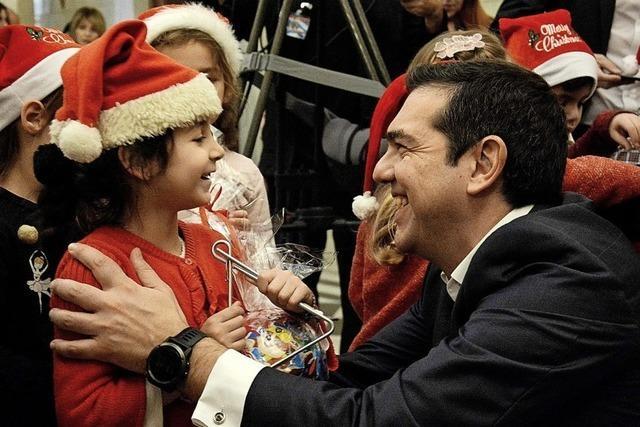 Für Alexis Tsipras beginnt das wohl schwierigste Jahr