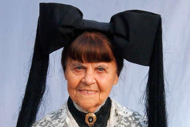 Paula Röttele war Gründerin und Herzstück der Markgräfler Trachtengruppe