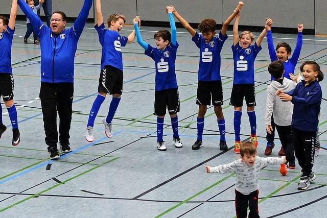 Bilder: Junge Fußballer kicken vier Tage lang in Lahr