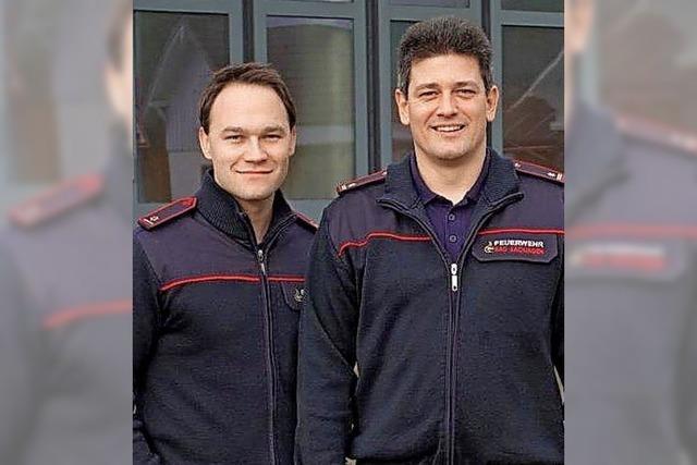 Neue Chefs der Feuerwehr