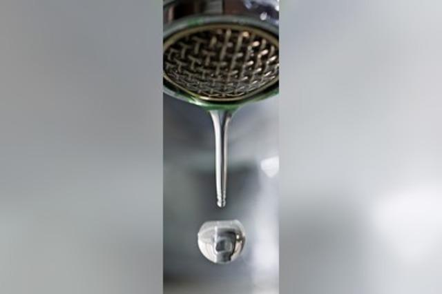 Trinkwasser bleibt weiter hart
