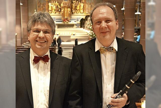 Clemens Staiger (Orgel) und Christoph Wirz (Klarinette) in Titisee-Neustadt