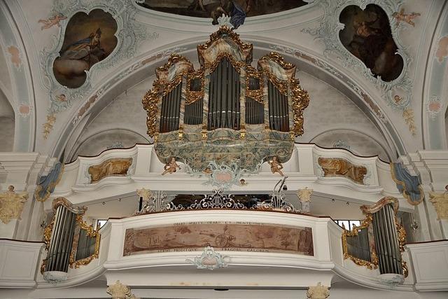 Die große Orgel muss schweigen