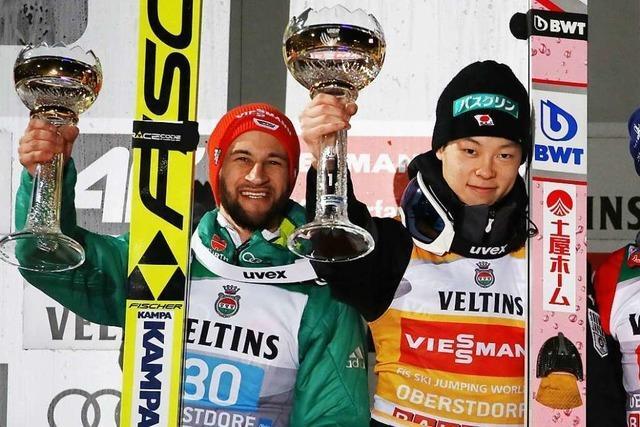 Markus Eisenbichler überraschend Zweiter zum Start der Vierschanzentournee