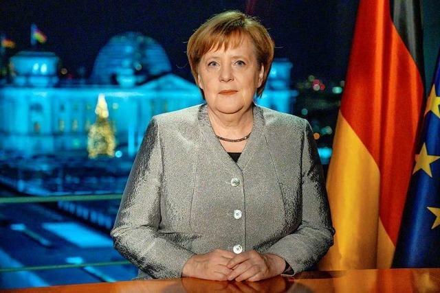 Merkel ruft Bürger zu tolerantem Miteinander auf