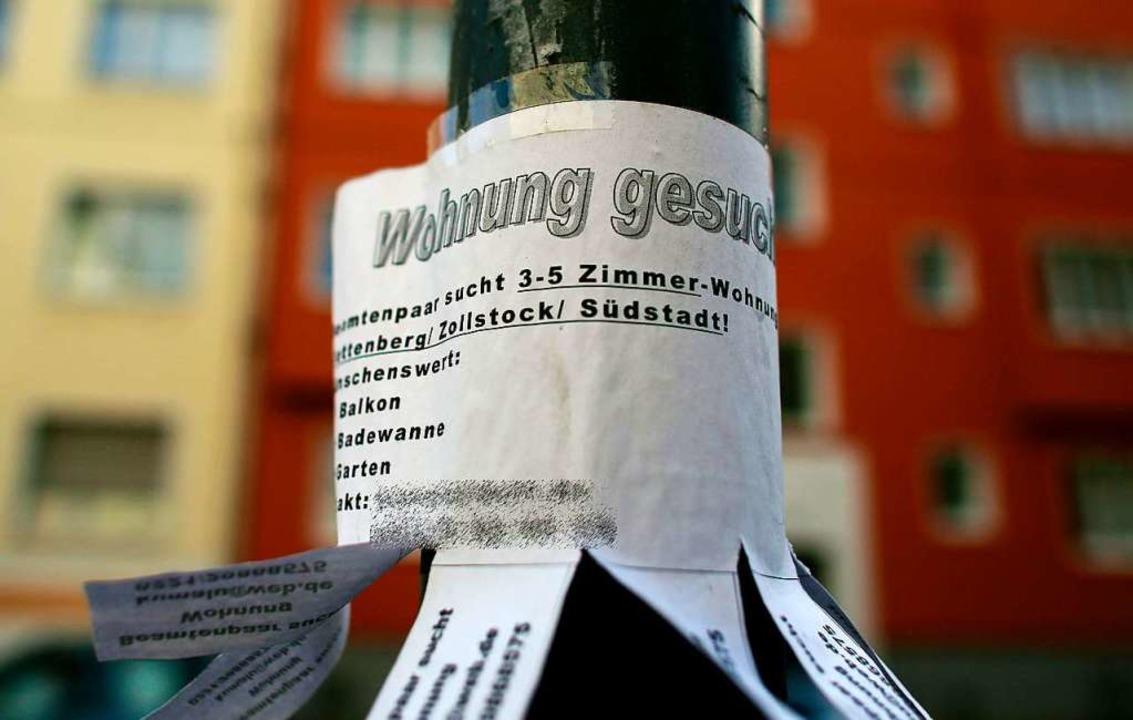 Die Mietpreisbremse wird verschärft.    Foto: Oliver Berg