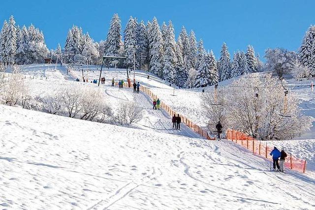 Winter 2013/14 in Todtnau: Ski und Rodel gut