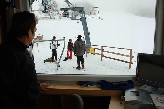 Freude am und im Schnee am Saiger Lift
