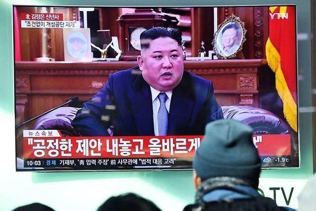 Kim Jong Un droht USA mit Abkehr vom Annäherungskurs