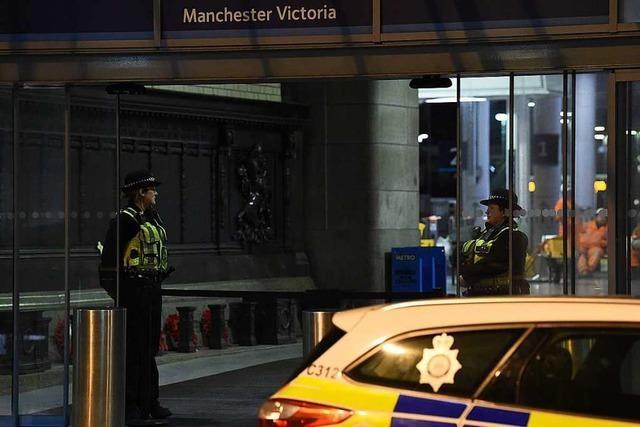 Anti-Terror-Einheit ermittelt nach Messerattacke in Manchester