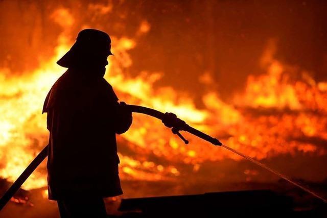 Feuerwehreinsätze: Das ist in der Silvesternacht in Freiburg passiert