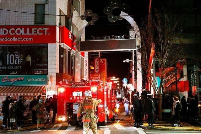 Auto rammt Fußgänger in Tokio - Fahrer spricht von Terrorakt
