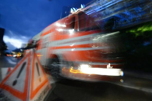 Brand in Merdingen in der Silvesternacht