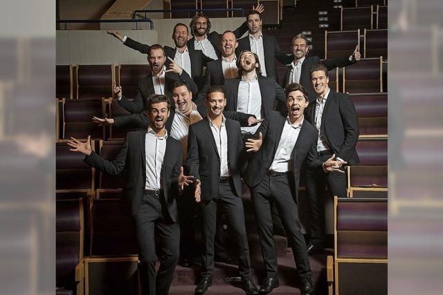 The 12 Tenors interpretieren große Hits in Lahr