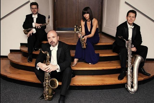 Benefizkonzert des Raschèr-Saxophon-Quartett & Orchester