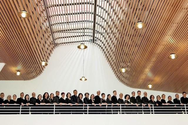 Chorkonzert als Reise ins Salzburger Land