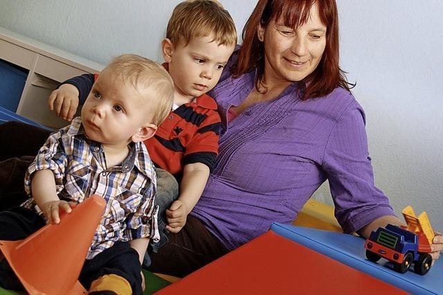 Mehr Förderung für Kindertagespflege