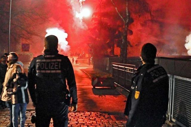 So hat das neue Böllerverbot in der Schopfheimer Altstadt funktioniert